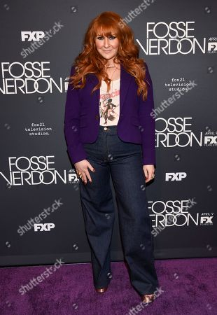 "Julie Klausner attends the premiere screening of FX's ""Fosse/Verdon"" at the Gerald Schoenfeld Theatre, in New York"