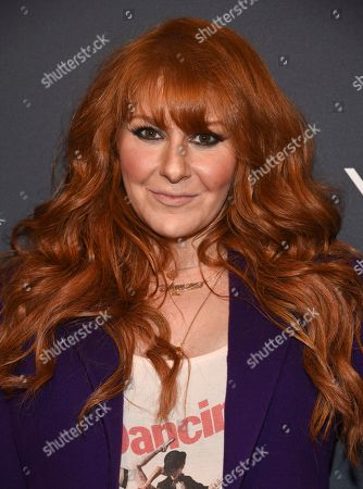 "Stock Image of Julie Klausner attends the premiere screening of FX's ""Fosse/Verdon"" at the Gerald Schoenfeld Theatre, in New York"
