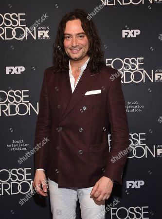 """Constantine Maroulis attends the premiere screening of FX's """"Fosse/Verdon"""" at the Gerald Schoenfeld Theatre, in New York"""