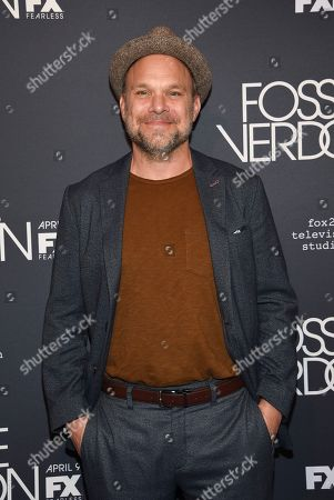 "Norbert Leo Butz attends the premiere screening of FX's ""Fosse/Verdon"" at the Gerald Schoenfeld Theatre, in New York"
