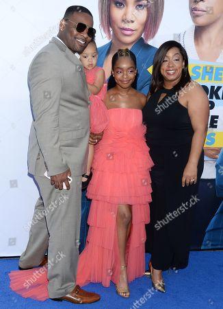 Marsai Martin and family