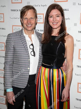 Will Cotton, Rose Dergan. Will Cotton, left, and Rose Dergan, right, attend the Tribeca Ball at the New York Academy of Art, in New York