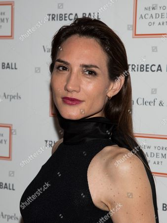 Stock Photo of Zani Gugelmann attends the Tribeca Ball at the New York Academy of Art, in New York
