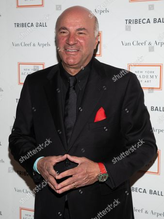 Kevin O'Leary attends the Tribeca Ball at the New York Academy of Art, in New York