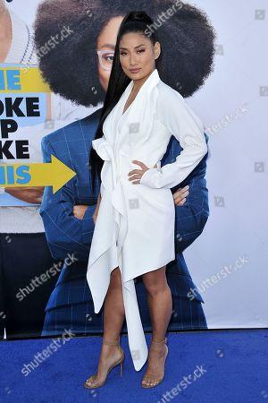 """Chloe Flower attends the LA premiere of """"Little"""" at the Regency Village Theatre, in Los Angeles"""
