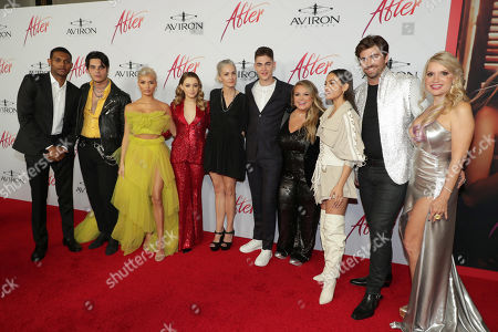 Shane Paul McGhie, Samuel Larsen, Pia Mia Perez, Josephine Langford, Jenny Gage, Director, Hero Fiennes-Tiffin, Anna Todd, Author, Inanna Sarkis, Swen Temmel, Meadow Williams