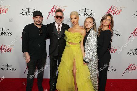 Stock Photo of Courtney Solomon, Producer, Mark Canton, Producer, Pia Mia Perez, Dorothy Canton, Nicolee Webb, Co-Producer,