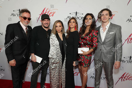 Editorial image of Aviron Pictures 'After' film premiere at The Grove LA, Los Angeles, USA - 08 Apr 2019