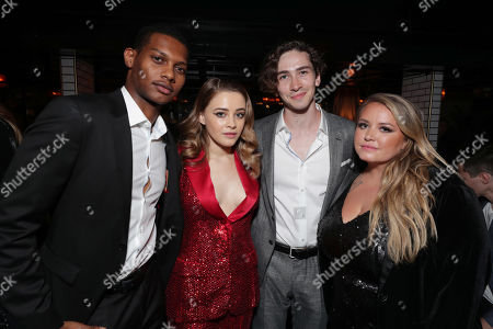 Shane Paul McGhie, Josephine Langford, Dylan Arnold, Anna Todd, Author/Producer,