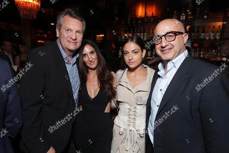 William Sadleir, Chairman and CEO, Aviron Pictures, Jennifer Gibgot, Producer, Inanna Sarkis, David Dinerstein, President, Aviron Pictures,