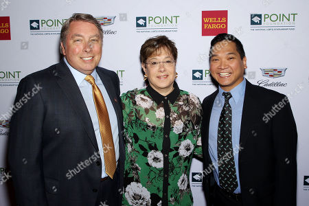 Stock Picture of James Williams, Claudia Kane and Alan Guno