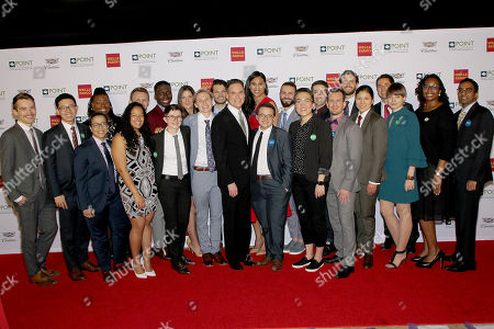 Editorial photo of Celebrities Support LGBTQ Education At Point Honors Gala, New York, USA - 08 Apr 2019
