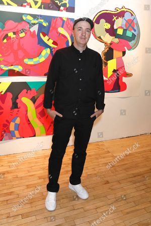 KAWS, artist and honoree of the night