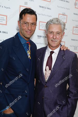 Greg Unis and David Kratz, President of the New York Academy of Art