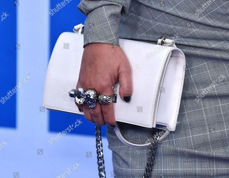 Stock Photo of Sanaa Lathan, bag detail