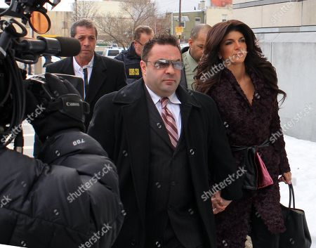 Stock Picture of Joe Guidice and Teresa Guidice USA New York City