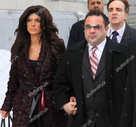 Joe Guidice and Teresa Guidice USA New York City