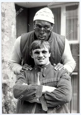 Editorial photo of Boxers Frank Bruno (top) And Tony Sibson. Pkt5274-386151 Frank Bruno . Rexmailpix.