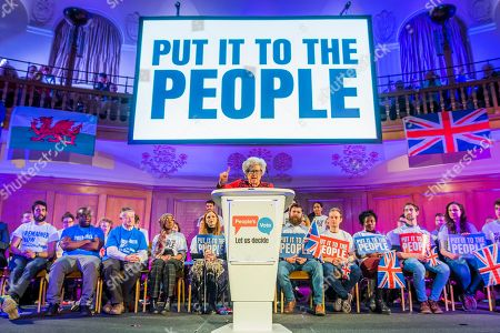 Editorial photo of People's Vote Rally, Westminster, London, UK - 09 Apr 2019