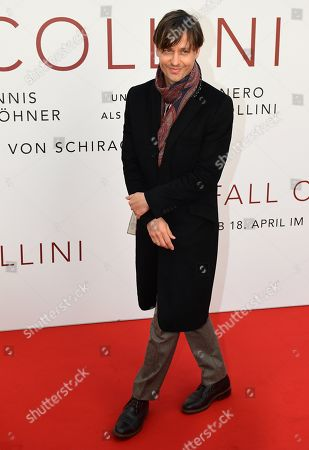 Stock Picture of Tom Schilling arrives for the world premiere of the movie 'The Collini Case' (Der Fall Collini) at the Zoo Palast cinema in Berlin, Germany, 09 April 2019. The movie screens from 18 April 2019 in German cinemas.