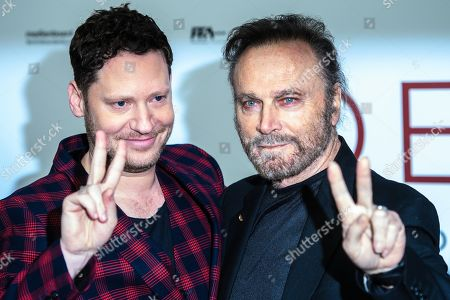 Marco Kreuzpaintner (L) and Italian actor Franco Nero pose during the world premiere of the movie 'The Collini Case' (Der Fall Collini) at the Zoo Palast cinema in Berlin, Germany, 09 April 2019. The movie screens from 18 April 2019 in German cinemas.