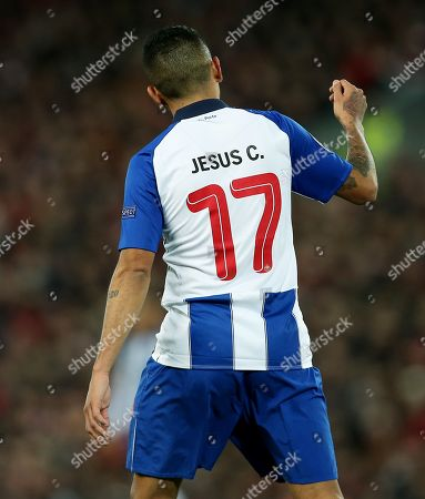 The shirt back of Jesus Manuel Corona of Porto