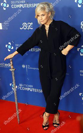 Editorial photo of Gamesweekberlin awards ceremony, Berlin, Germany - 09 Apr 2019