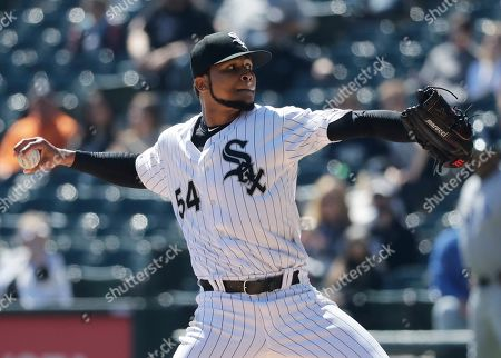 Editorial image of Rays White Sox Baseball, Chicago, USA - 09 Apr 2019