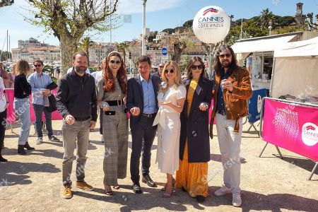 Editorial photo of Jury Petanque Contest, Cannes Series Festival, France - 09 Apr 2019
