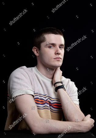 """This photo shows actor Eugene Simon, who portrayed Lancel Lannister in the HBO series """"Game of Thrones,"""" posing for a portrait in Los Angeles. The final season of the series premieres on Sunday"""