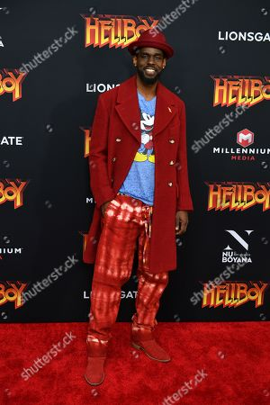 Editorial image of 'Hellboy' special film screening, Arrivals, New York, USA - 09 Apr 2019