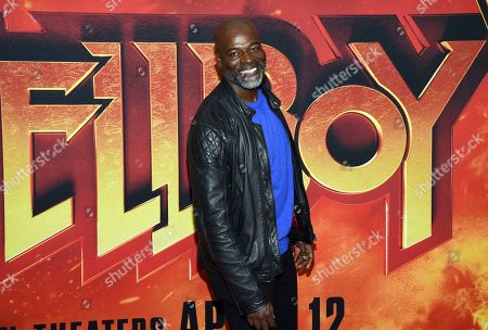"Stock Picture of Hisham Tawfiq attends a special screening of ""Hellboy"" at AMC Lincoln Square, in New York"