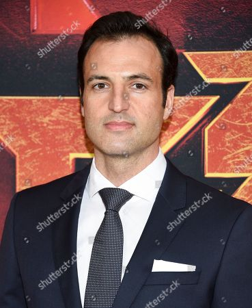 """Stock Photo of Kresh Novakovic attends a special screening of """"Hellboy"""" at AMC Lincoln Square, in New York"""