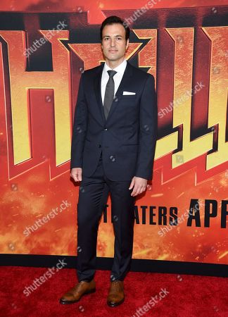 """Stock Image of Kresh Novakovic attends a special screening of """"Hellboy"""" at AMC Lincoln Square, in New York"""