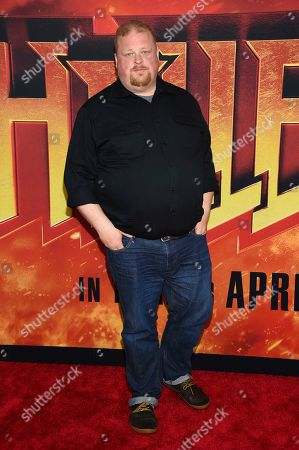 """Joel Marsh Garland attends a special screening of """"Hellboy"""" at AMC Lincoln Square, in New York"""