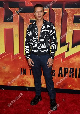 "Ismael Cruz Cordova attends a special screening of ""Hellboy"" at AMC Lincoln Square, in New York"