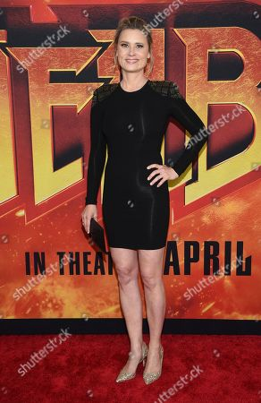 """Kristina Klebe attends a special screening of """"Hellboy"""" at AMC Lincoln Square, in New York"""