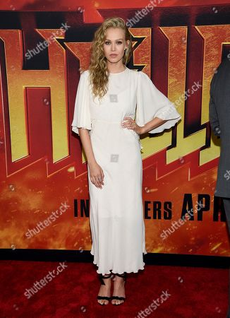 """Penelope Mitchell attends a special screening of """"Hellboy"""" at AMC Lincoln Square, in New York"""