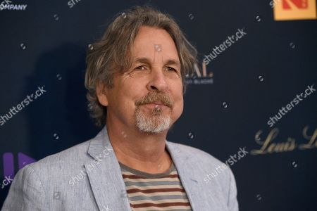 """Stock Picture of Peter Farrelly arrives at the Los Angeles premiere of """"Be Natural: The Untold Story of Alice Guy-Blache"""", at Harmony Gold in Los Angeles"""