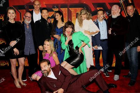 Cast - Daniel Dae Kim, Sasha Lane, Milla Jovovich, Penelope Mitchell, and David Harbour