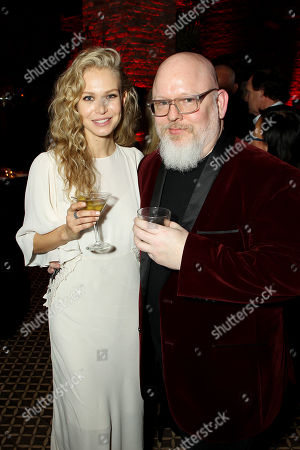 Stock Image of Penelope Mitchell and Andrew Cosby (Screenwriter)