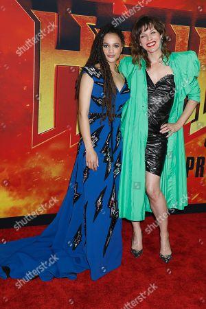 Sasha Lane and Milla Jovovich