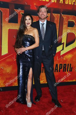 Editorial photo of 'Hellboy' special film screening, Arrivals, New York, USA - 09 Apr 2019