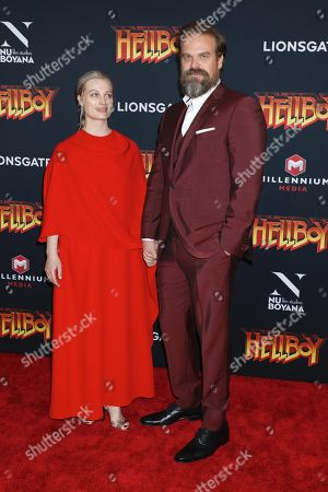 Editorial picture of 'Hellboy' special film screening, Arrivals, New York, USA - 09 Apr 2019