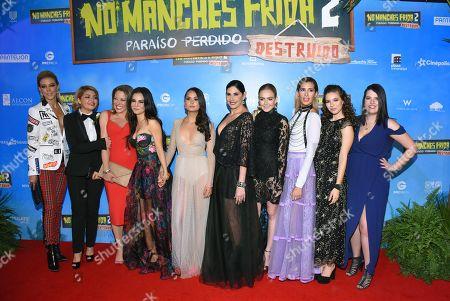 Editorial picture of 'No Manches Frida 2' film premiere, Mexico City, Mexico - 09 Apr 2019