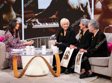 Editorial image of 'Lorraine' TV show, London, UK - 10 Apr 2019
