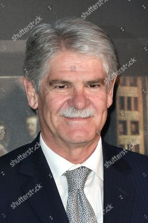 Stock Picture of Alfonso Dastis Spanish Ambassador in Italy