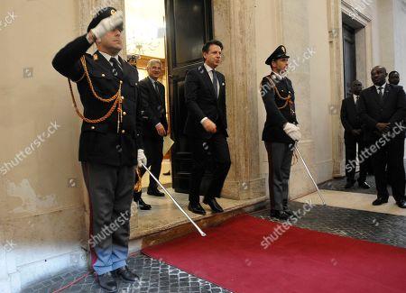 Italian Prime Minister Giuseppe Conte
