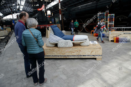 Editorial image of Furniture Fair Plastic, Milan, Italy - 10 Apr 2019