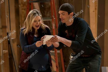 Elisha Cuthbert as Abby and Ashton Kutcher as Colt Bennett
